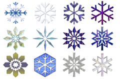 snowflakes are similar but unique