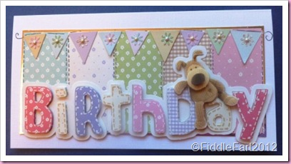 Docrafts Boofle Birthday