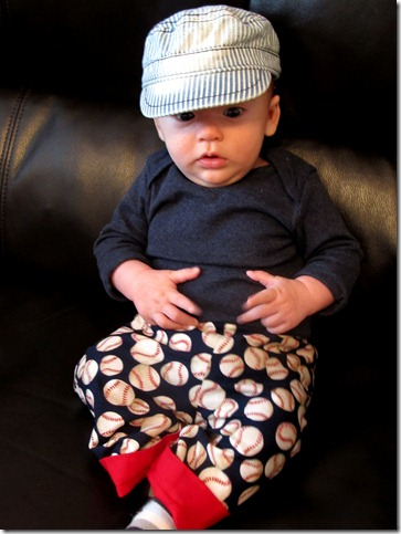 Nolan's baseball pants