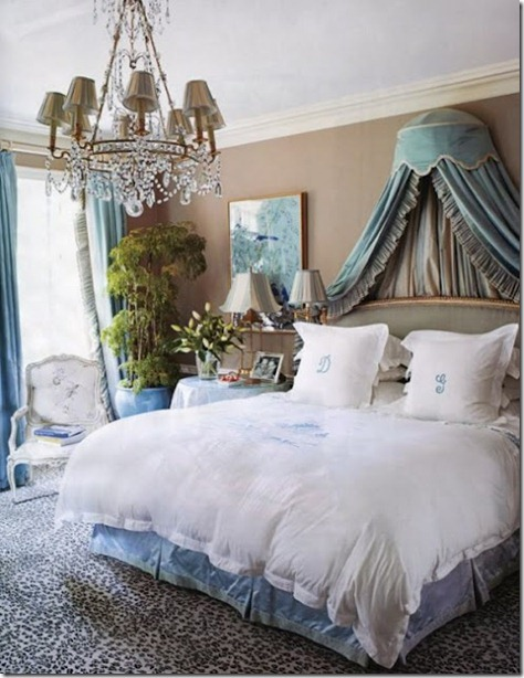 leopard-print-rug-in-a-traditional-blue-and-white-bedroom-trendspotting-getting-wild-with-animal-prints-home-design-and-decor-ideas-and-inspiration