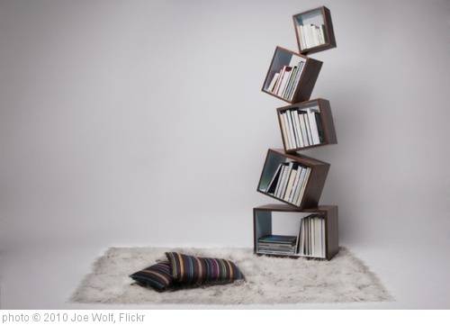 'Equilibrium Bookcase' photo (c) 2010, Joe Wolf - license: http://creativecommons.org/licenses/by-nd/2.0/