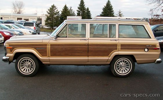 1991 jeep grand wagoneer suv specifications pictures prices. Black Bedroom Furniture Sets. Home Design Ideas