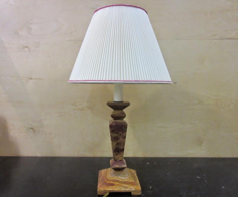 Polished Rock Lamp