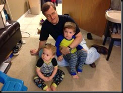 Dad with Boys