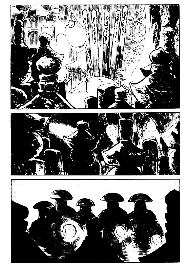 Sói mang con - Lone Wolf and Cub chap 77