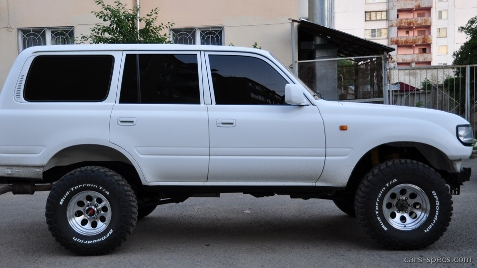1991 toyota land cruiser suv specifications pictures prices. Black Bedroom Furniture Sets. Home Design Ideas