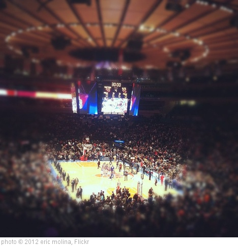 'The only celebration New York #Knicks fans will see on this court for a long time. #globetrotters' photo (c) 2012, eric molina - license: http://creativecommons.org/licenses/by/2.0/