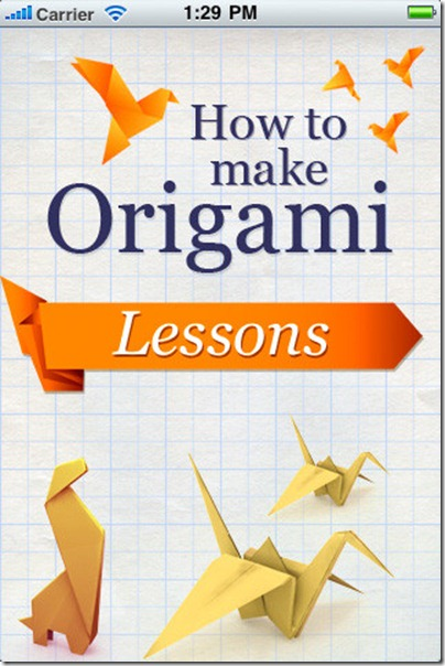 How to Make Origami apps