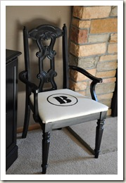Monogram Dining Chair