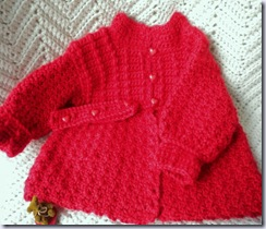 magdalene knits red sweater
