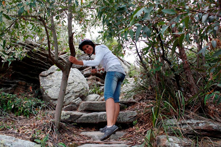 Obiective turistice Sydney: Am lasat bicicleta si am pornit la drumetie