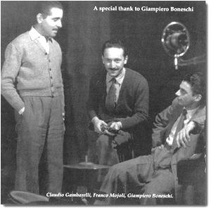 Giampiero Boneschi Trio copertina Cd