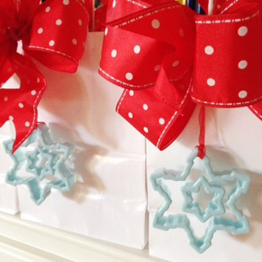 West Elm Holiday Cookie Decorating Workshop Marilyn Johnson swag bags