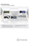 Mercedes-Benz Splitview Display