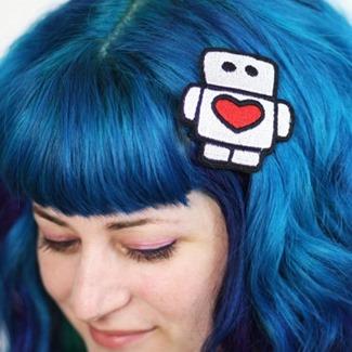 JanineBasil - Robot Hair Clip