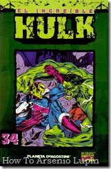 P00034 - Coleccionable Hulk #34 (de 50)