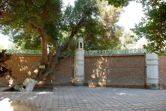 Hami - Enceinte tombeau des rois Hui