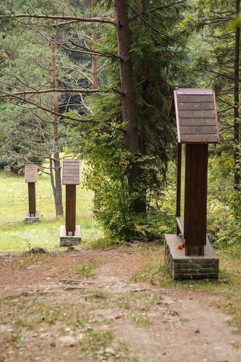 Krížvá cesta, Hora Zvir, Litmanová