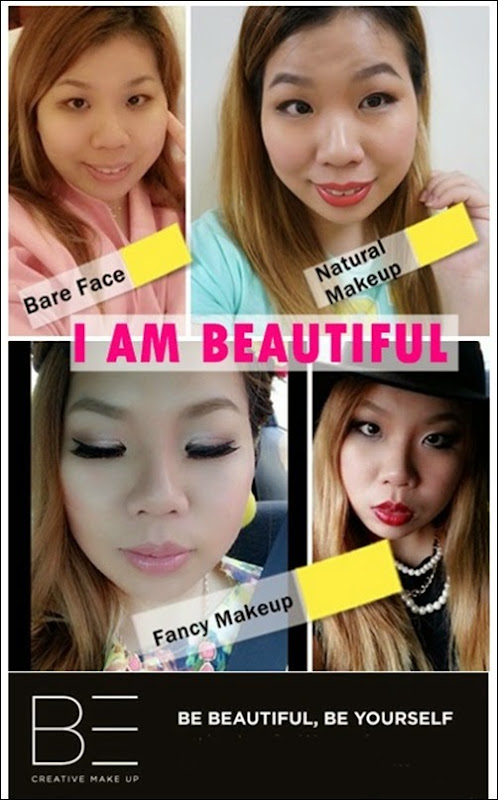 BE creative makeup review