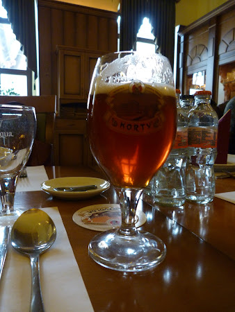 Vin cu bere la Miskolc: Un pahar de Korty