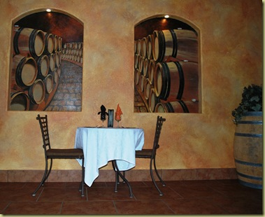 The Table and the Wine Cellar