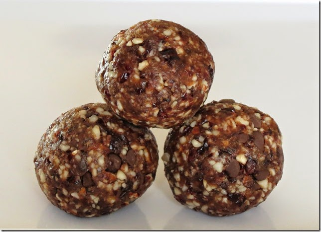 Cranberry Almond Date Balls