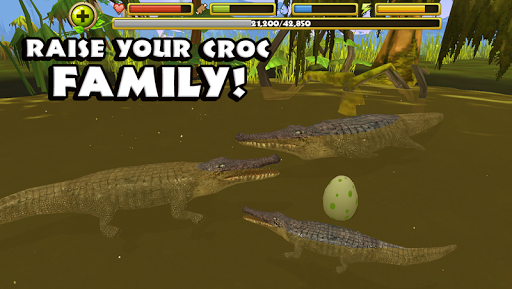 Wildlife Simulator: Crocodile - screenshot