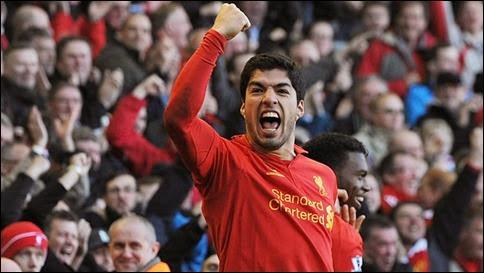 Luis Suárez elegido como el mejor jugador del año de la Premier Leagle de Inglaterra