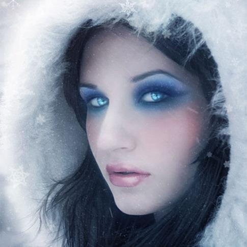 26. Añadir efecto de invierno a un retrato
