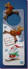 Christmasd Door hangers
