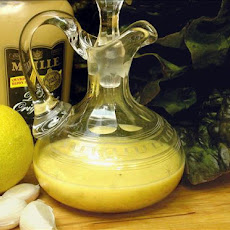 Lemon Garlic Dijon Vinaigrette