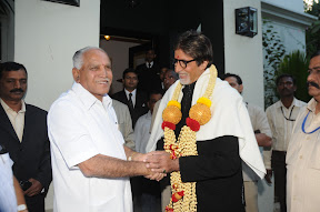With Veteran Actor Sri Amitabh Bachchan