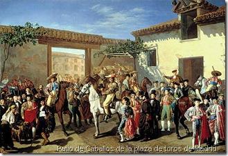 Patio de Caballos de la plaza de toros_de_Madrid