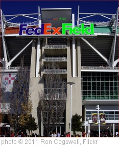 'FedEx Field Logo -- Landover (MD) November 6, 2011' photo (c) 2011, Ron Cogswell - license: http://creativecommons.org/licenses/by/2.0/