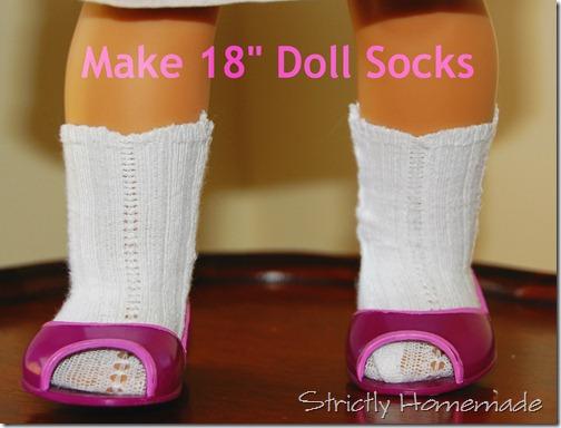 18 Doll Socks