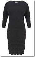 Kaliko Black Knit Dress