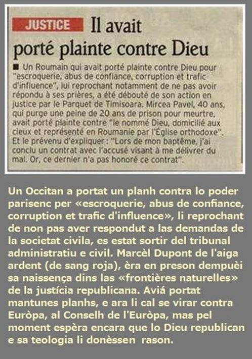 Lo plan d'un occitan