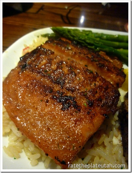 LongHorn Steakhouse Salmon