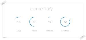 elementary OS 0.2 Luna - countdown dal sito ufficiale