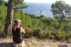 Carry le rouet vue sur la mer