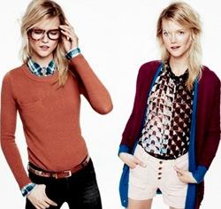 Moda para o dia a dia: Dicas para usar sueter e cardigans. Foto: lookbook Madewell