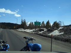 "The first ..""Vail Pass at 10,603 elevation!"