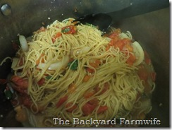 no drain pasta - The Backyard Farmwife