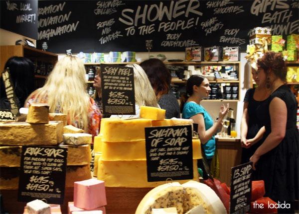 Lush Bloggers Event Sydney QVB Store (1)