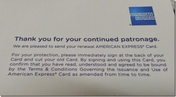 How to renew expiring credit card