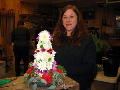 Yuletide Topiary Workshop 020