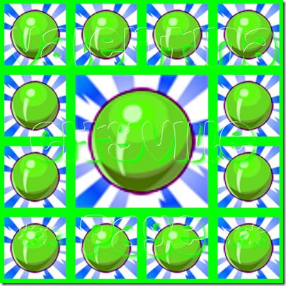 1 caramella verde