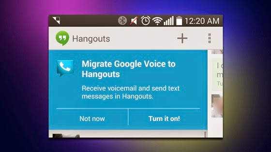 Google Voice Integration Finally Arrives in Hangouts via Lifehacker