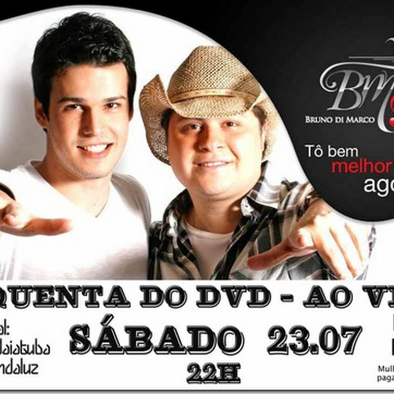 'Esquenta' do DVD com Bruno di Marco & Christiano