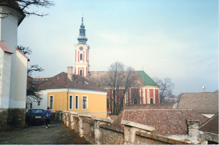 Imagini Ungaria: biserica ortodoxa sarba din Szentendre